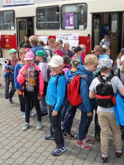 Promujemy korzystanie z transportu publicznego